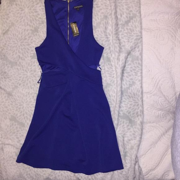 Express Dresses & Skirts - Royal blue dress